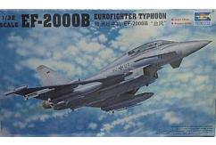 Trumpeter 1/32 EF-2000B Eurofighter Typhoon image
