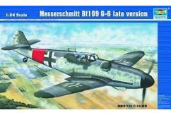 Trumpeter 1/24 Messerschmitt Bf109 G-6 - Late Version image
