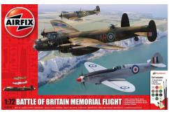 Airfix 1/72 Battle of Britain Memorial Flight Model Set image
