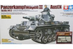 Tamiya 1/35 Panzer III with PE Parts & Gun image