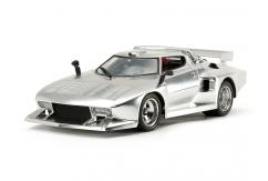 Tamiya 1/24 Lancia Stratos Turbo - Silver Colour Plated image