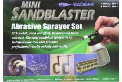 Badger Sandblaster Gun Set with Abrasive image