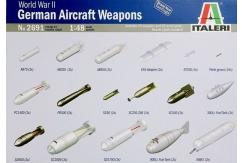 Italeri 1/48 WWII German Aircraft Weapons image