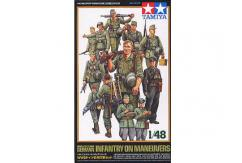 Tamiya 1/48 German Infantry on Maneuvers image