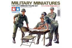 Tamiya 1/35 U.S Command Figure Set image