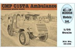 Mirror Models 1/35 CMP C15TA Ambulance image