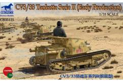 Bronco 1/35 CV3/33 Tankette Serie II (Early Production) image