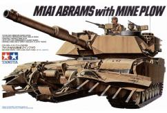Tamiya 1/35 Abrams with Mine Plow image