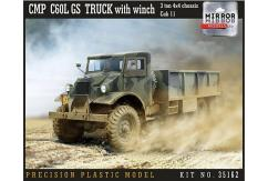 Mirror Models 1/35 CMP C60L GS Truck w/Winch image