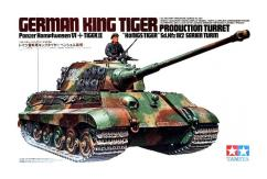 Tamiya 1/35 King Tiger Production Turret image