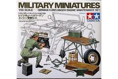 Tamiya 1/35 Kubelwagen Engine Maintenance Set image
