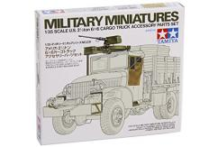 Tamiya 1/35 U.S Cargo Truck Accessory Parts Set image