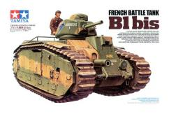 Tamiya 1/35 French Battle Tank B1 Bis image
