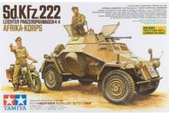 Tamiya 1/35 Sd.Kfz.222 North Africa image