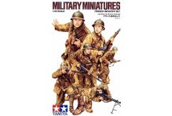 Tamiya 1/35 WWII  French Infantry Set image