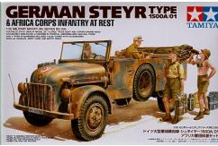 Tamiya 1/35 Steyr 1500A/01 Africa Infantry At Rest image