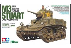 Tamiya 1/35 M3 Stuart Late Production image