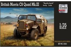 Mirror Models 1/35 British Morris C8 Quad Mk III - Late image