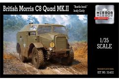 Mirror Models 1/35 British Morris C8 Quad Mk II - Early image
