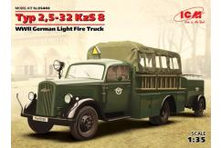 ICM 1/35 German Fire Truck Type 2,5-32 image