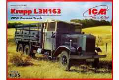 ICM 1/35 Army Truck Krupp L3H163 image