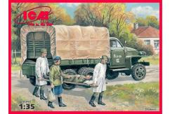 ICM 1/35 Studebaker US6 w/Soviet Medical Staff image