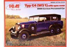 ICM 1/35 G4 (W31) German Car Convertible image