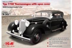 ICM 1/35 Touren-Wagen Convertible w/Germans image