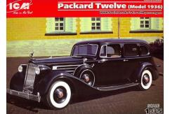 ICM 1/35 Packard 12 Series 1936 Soviet Leaders Car image
