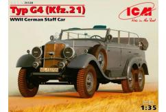 ICM 1/35 German Staff Car Type G4 image