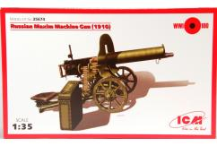 ICM 1/35 Russian Maxim Machine Gun (1910) image
