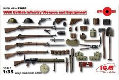 ICM 1/35 British Infantry Weapons & Equipment WWI image