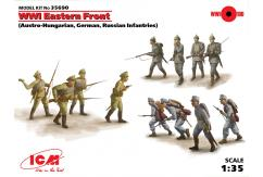 ICM 1/35 Combo Pack Eastern Front Infantries WWI image