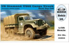 Mirror Models 1/35 US Diamond T968 Cargo Truck - Hard Top Cab image