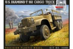 Mirror Models 1/35 US Diamond T968 Cargo Truck - Open Cab image