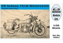 Mirror Models 1/35 US Indian 741B Motorcycle image