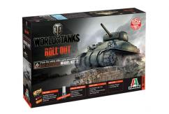 Italeri 1/35 M4 Sherman World of Tanks image