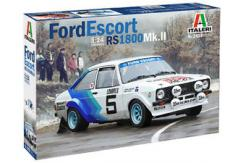 Italeri 1/24 Ford Escort Mk II RS 1800 Rally image