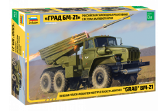 Zvezda 1/35 Russian Truck Mounted Rocket Launcher image