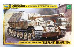 "Zvezda 1/35 German Tank Destroyer ""Elefant"" image"