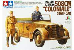 Tamiya 1/35 Italian German 508cm Coloniale Staff Car image