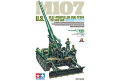 Tamiya 1/35  M107 U.S Self Propelled Gun Vietnam War image