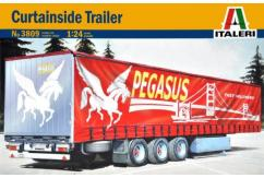 Italeri 1/24 Curtainside Trailer image
