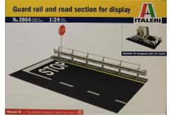Italeri 1/24 Guard Rail & Road Section image