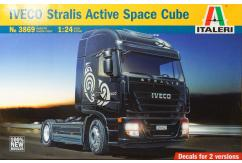 Italeri 1/24 Iveco Stralis Active Space Cube image
