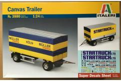Italeri 1/24 Canvas Trailer image