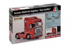 "Italeri 1/24 Scania R560 ""Red Griffin"" image"