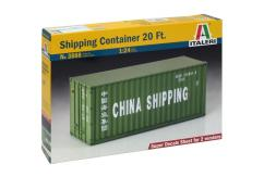Italeri 1/24 20 Foot Container image