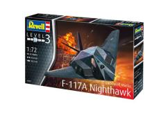 Revell 1/72 F-117A Stealth Fighter image
