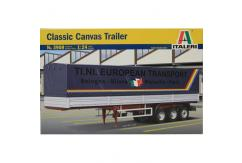 Italeri 1/24 Classic 40Ft Canvas Trailer image